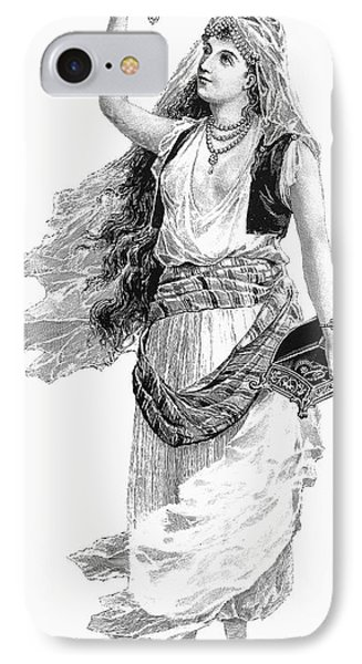 Harem Woman. 19th Century Phone Case by Granger