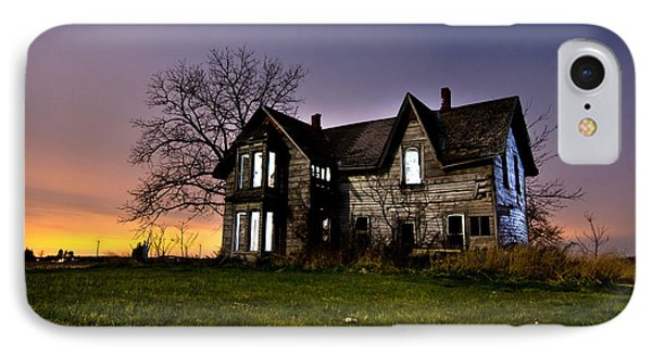Haunted House IPhone Case by Cale Best