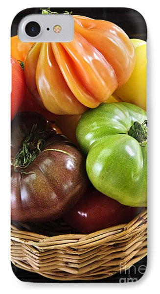 Heirloom Tomatoes IPhone Case by Elena Elisseeva