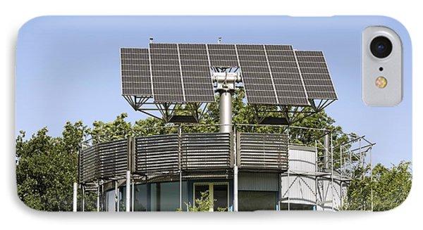 Heliotrope Solar House Phone Case by Martin Bond