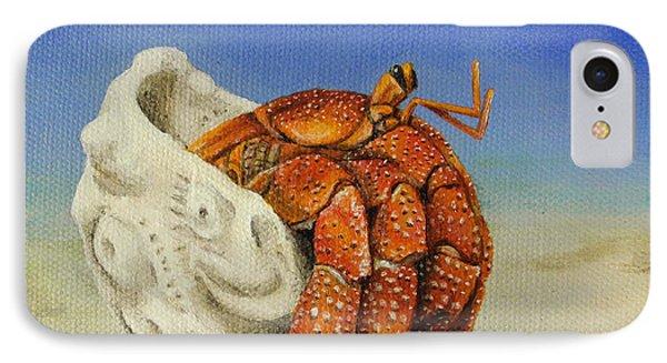 Hermit Crab Phone Case by Cindy D Chinn