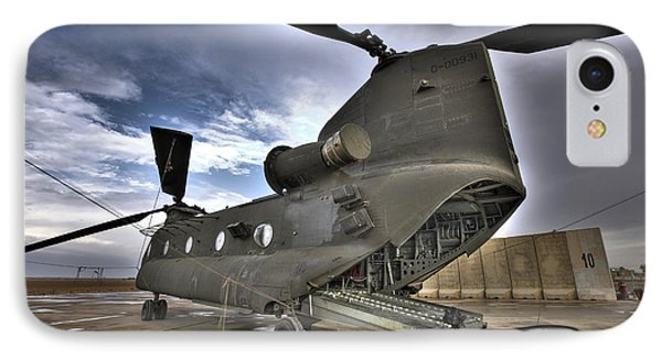 High Dynamic Range Image Of A Ch-47 IPhone Case