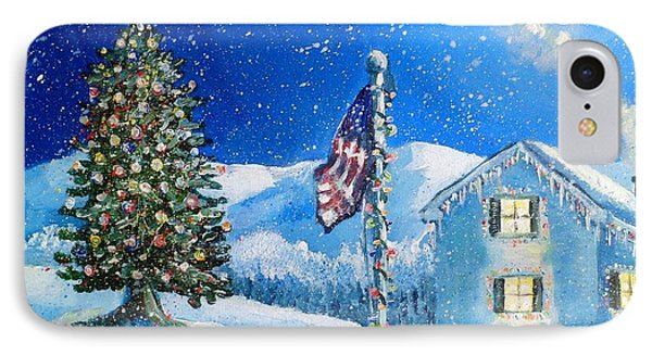 Home For The Holidays Phone Case by Shana Rowe Jackson