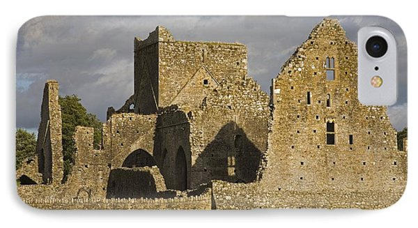 Hore Abbey, Cashel, County Tipperary IPhone Case by Richard Cummins