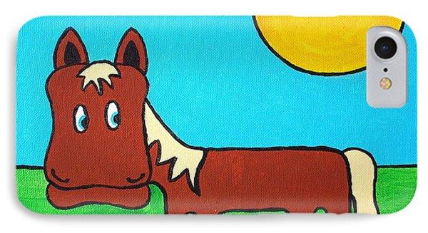 Horse IPhone Case by Sheep McTavish