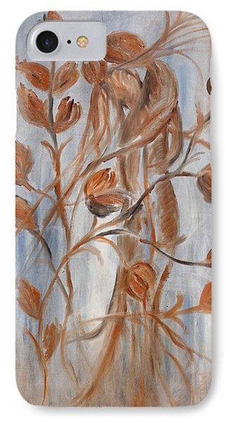 IPhone Case featuring the painting hug by Sladjana Lazarevic