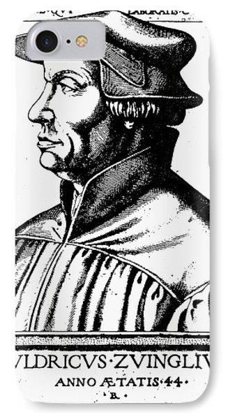 Huldreich Zwingli Phone Case by Granger