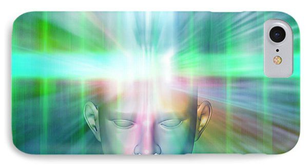 Human Consciousness Phone Case by Pasieka