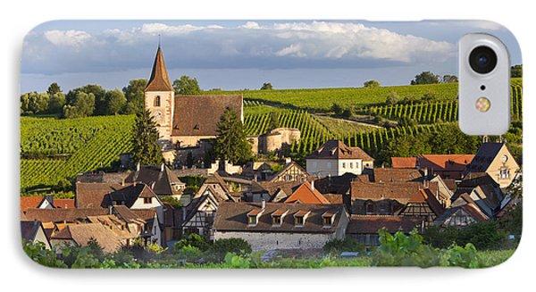 Hunawihr Alsace IPhone Case by Brian Jannsen
