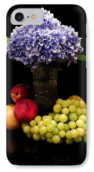 Hydrangea And Fruit Phone Case by Sandi OReilly
