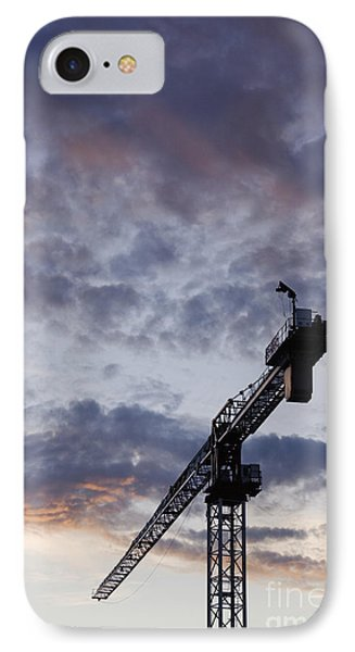Industrial Crane Phone Case by Jeremy Woodhouse
