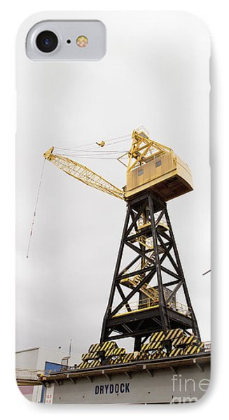 Industrial Crane Phone Case by Shannon Fagan