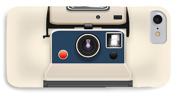 Instant Camera With A Blank Photo Phone Case by Setsiri Silapasuwanchai