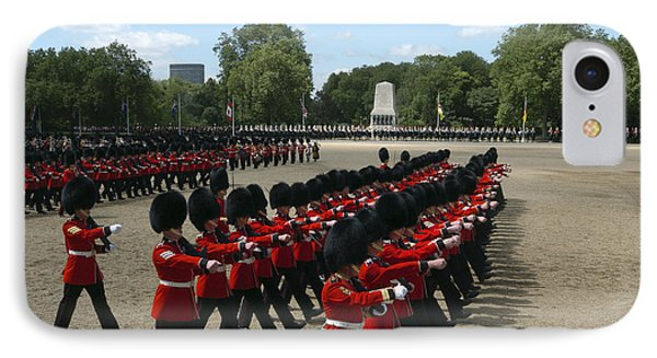 Irish Guards March Pass During The Last Phone Case by Andrew Chittock