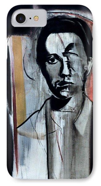 Jean Genet Phone Case by Fabrice Plas
