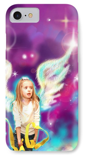 Jewell.angelic 3 IPhone Case by Nada Meeks