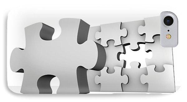 Jigsaw Puzzle, Artwork Phone Case by Pasieka