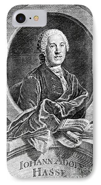 Johann Adolf Hasse Phone Case by Granger