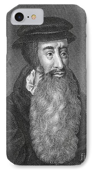 John Knox, Scottish Protestant Phone Case by Photo Researchers