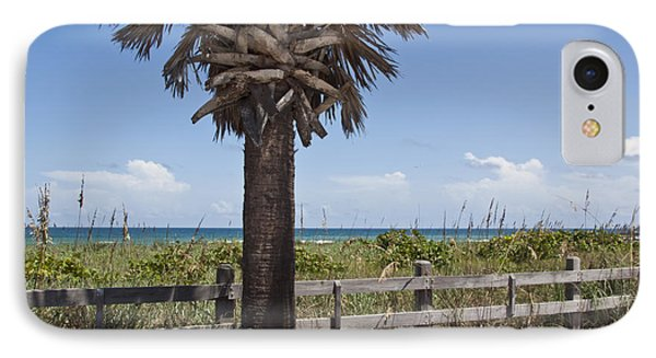 Juan Ponce De Leon Landing Site In Florida Phone Case by Allan  Hughes