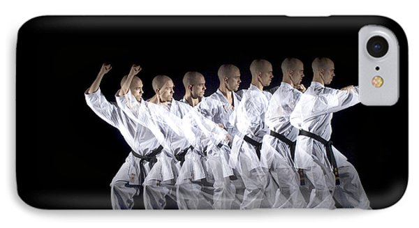 Karate Expert Phone Case by Ted Kinsman