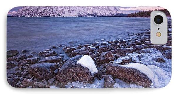 Kathleen Lake At Sunrise, Kluane Phone Case by Robert Postma