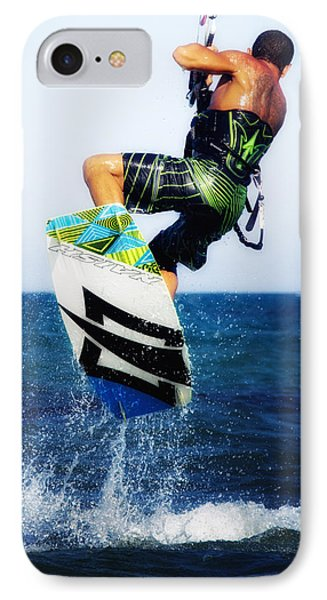 Kitesurfer Phone Case by Stelios Kleanthous