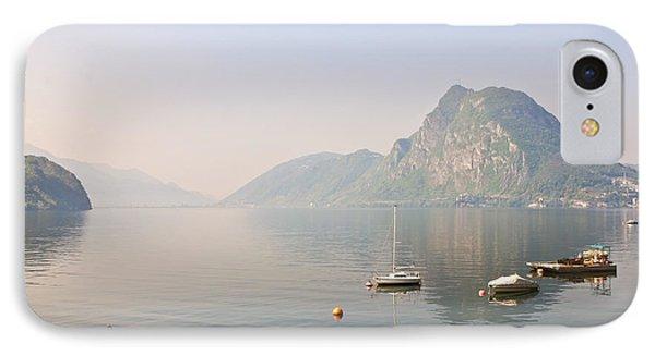 Lago Di Lugano Phone Case by Joana Kruse
