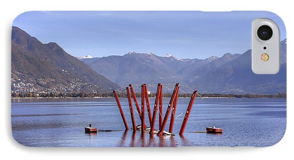 Lake Maggiore Locarno IPhone Case by Joana Kruse