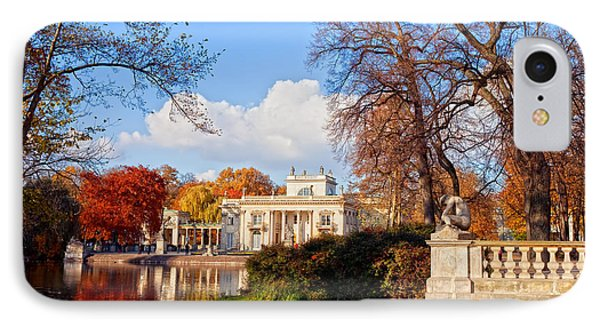 Lazienki Park In Warsaw IPhone Case by Artur Bogacki