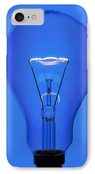 Light Bulb IPhone Case by Chris Knapton