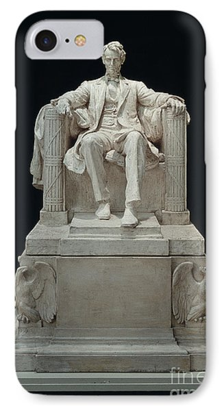 Lincoln Memorial: Statue IPhone Case by Granger