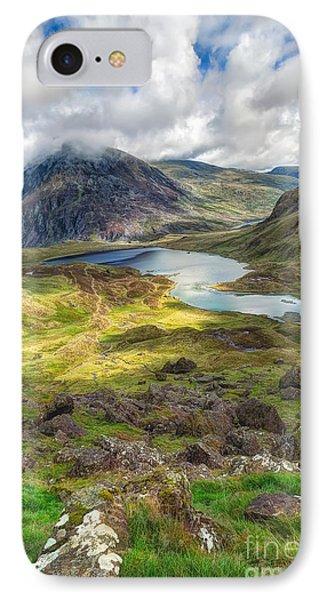 Llyn Idwal Lake Phone Case by Adrian Evans