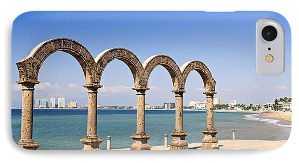 Los Arcos Amphitheater In Puerto Vallarta Phone Case by Elena Elisseeva