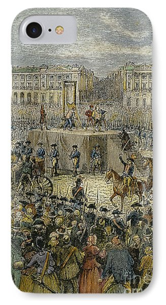 Louis Xvi: Execution, 1793 Phone Case by Granger