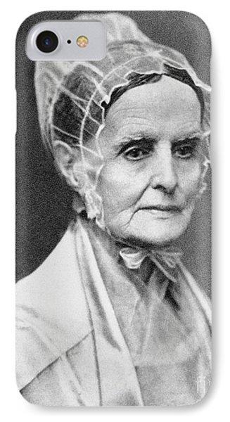 Lucretia Coffin Mott Phone Case by Granger