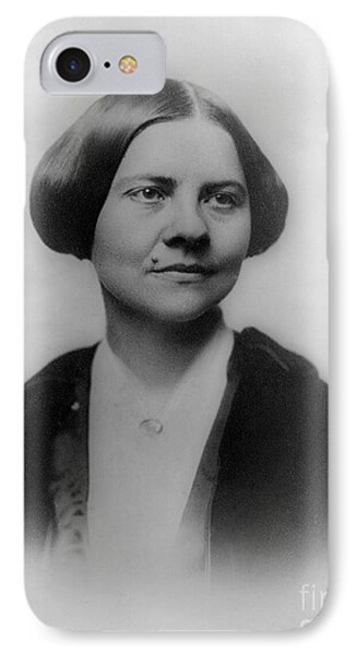 Lucy Stone, American Abolitionist IPhone Case by Photo Researchers