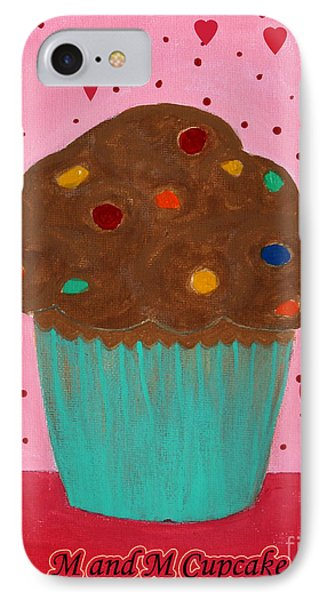 M And M Cupcake Phone Case by Barbara Griffin