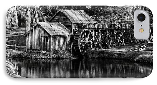 Mabry Mill IPhone Case by Carrie Cranwill