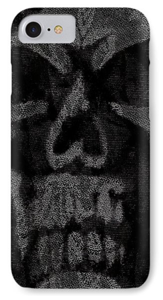 Macabre Skull Phone Case by Roseanne Jones