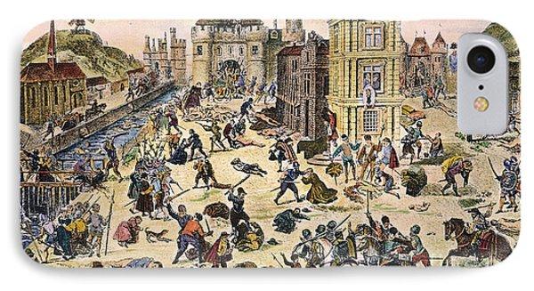 Massacre Of Huguenots Phone Case by Granger
