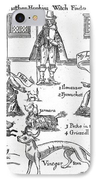 Matthew Hopkins (d. 1647) Phone Case by Granger