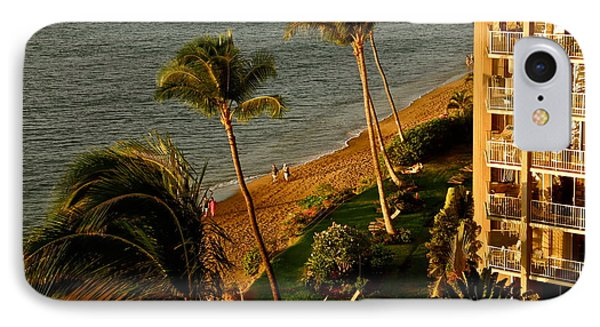 IPhone Case featuring the photograph Maui Sunset by Kirsten Giving