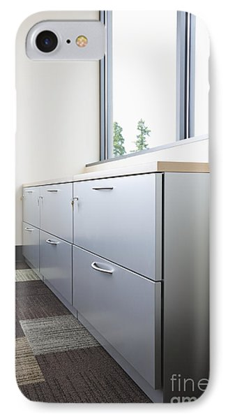 Metal Drawers And Shelf Phone Case by Jetta Productions, Inc