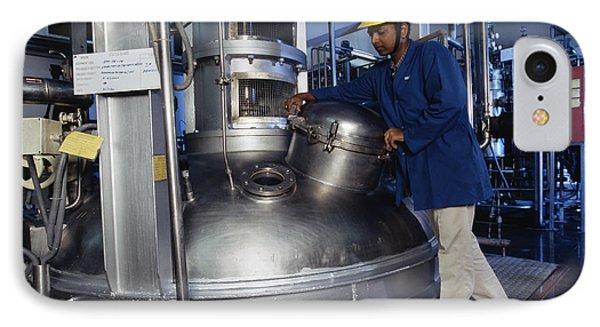 Microbe Fermentation Unit Phone Case by Volker Steger