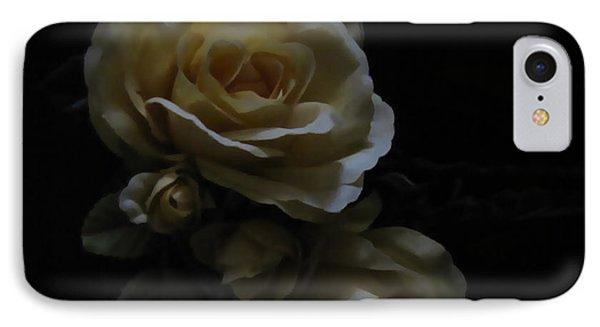 Midnight Roses IPhone Case by Cedric Hampton