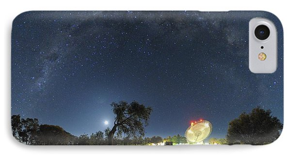 Milky Way Over Parkes Observatory Phone Case by Alex Cherney, Terrastro.com