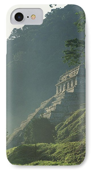 Misty View Of The Temple Phone Case by Kenneth Garrett