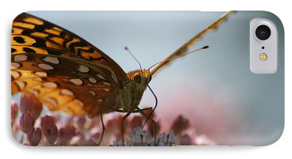 IPhone Case featuring the photograph Monarch Butterfly by Heidi Poulin