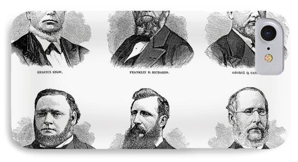 Mormon Apostles, 1877 Phone Case by Granger